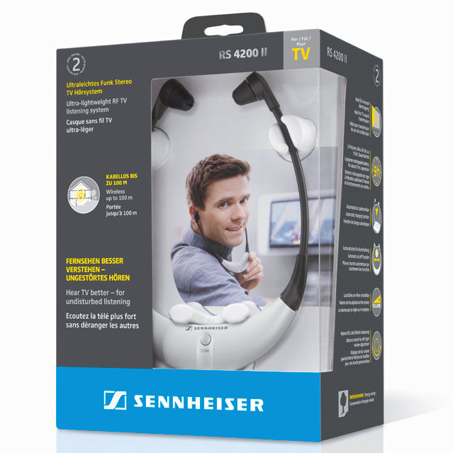 casque tv sennheiser rs 4200 ii. Black Bedroom Furniture Sets. Home Design Ideas