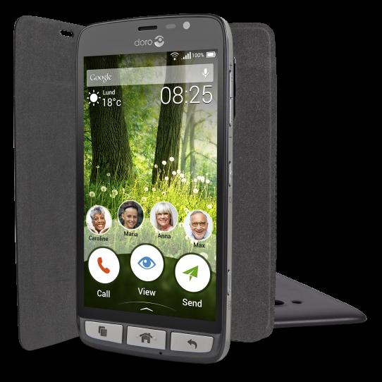Etui prot ge cran t l phone portable doro liberto 825 - Etui telephone portable ...