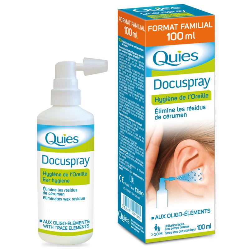 spray oreille quies docuspray 100 ml. Black Bedroom Furniture Sets. Home Design Ideas