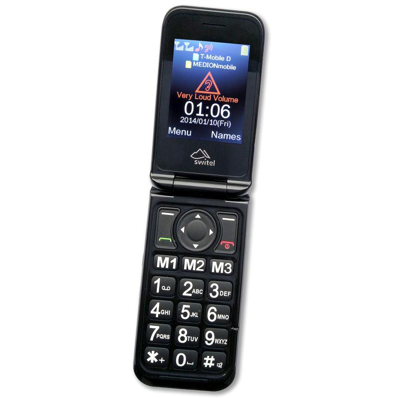 t l phone portable clapet switel m800 3g. Black Bedroom Furniture Sets. Home Design Ideas